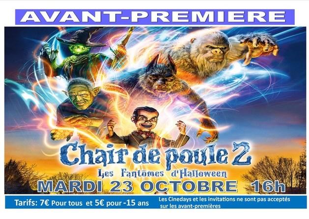 AVANT PREMIERE 23  OCTOBRE