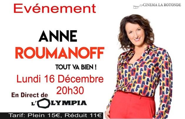 Anne ROUMANOFF LIVE