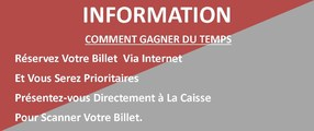 BILLETS VIA INTERNET
